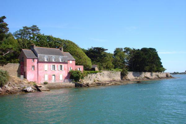 Golfe du Morbihan Maison Rose