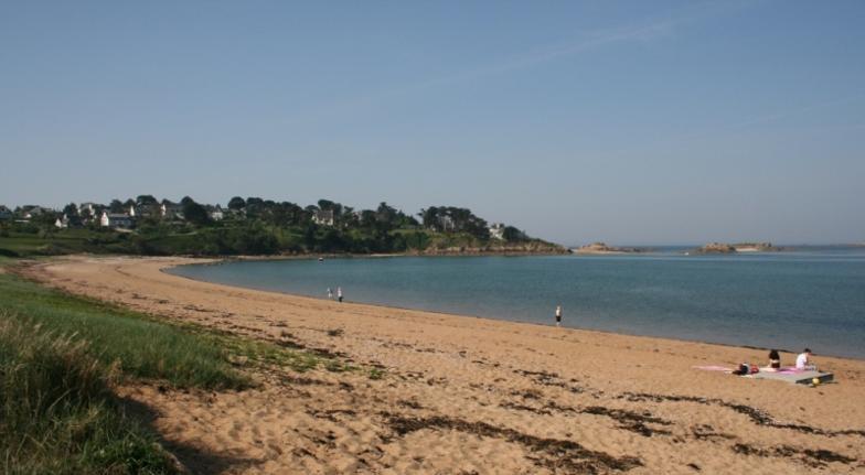magnifique plage bretagne